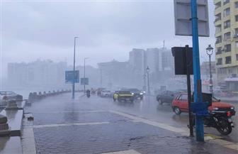 """""""الإسكندرية"""": موجة الطقس السيئ غير مسبوقة والأمطار فاقت قدرة شبكات الصرف"""