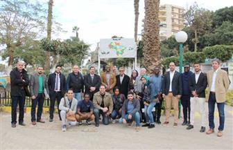 «المهندسين» تستقبل شباب 5 دول إفريقية