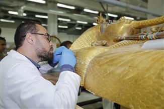 ماذا يجري في المتحف المصري الكبير؟ | صور