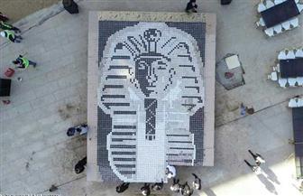 المعماري هشام الصادق: رسم قناع الملك توت باستخدام فناجين القهوة خطف أنظار العالم