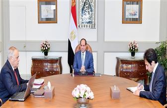 الرئيس السيسي يجتمع مع رئيس الهيئة العربية للتصنيع