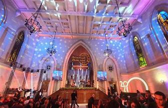 بدء احتفالات الكنيسة الإنجيلية برأس السنة الميلادية | صور