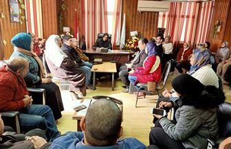 """في أول اجتماع رسمي.. 13 تكليفا من وكيلة """"الصحة"""" في كفرالشيخ لتطوير المنظومة الطبية  صور"""