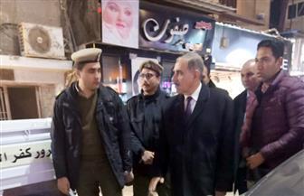 """محافظ كفرالشيخ يتفقد تأمين دور العبادة والشوارع الرئيسية في """"رأس السنة""""  صور"""