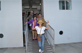 وصول 733 سائحا على متن سفينة سياحية قادمة من اليونان للإسكندرية | صور