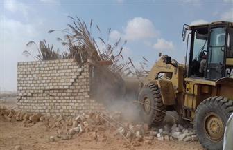 تنفيذ 29 حالة إزالة تعديات بمركز أسيوط.. واسترداد 239 فدانا | صور