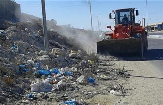 محافظ مطروح: تكثيف أعمال النظافة بجميع المدن