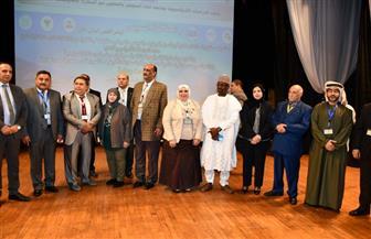 افتتاح المؤتمر العلمي الدولي الأول لمعهد الدراسات الأفرو آسيوي بجامعة القناة| صور
