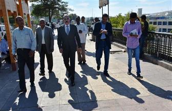 محافظ أسوان يتابع ميدانيا استعدادات منتدى السلام والتنمية المستديمة | صور