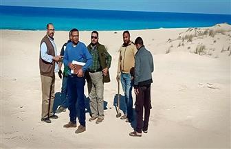 استرداد قطعة أرض مملوكة للدولة بمساحة 92 فدانا بمطروح| صور