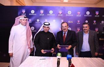 اتفاقية تعاون مشترك بين الاتحاد العربي لكرة القدم والصحافة الرياضية | صور