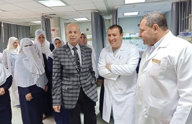 وكيل وزارة الصحة يتفقد مستشفى أبوكبير المركزي   صور -