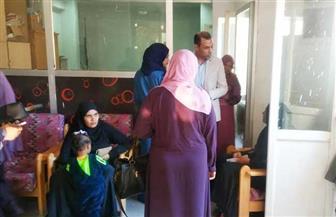 وكيل صحة الأقصر يتفقد حملة الكشف عن سرطان الثدي بمستشفى الحميات بأرمنت | صور