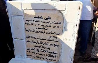 وفد من وزارة الشباب والرياضة يضع حجر الأساس لمركز شباب أرمنت بالأقصر