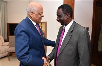 خلال زيارته لجوبا.. رئيس النواب يلتقي وزير الثروة الحيوانية والسمكية في جنوب السودان| صور