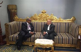 فايق يلتقي رئيس الديوان الوطني لحقوق الإنسان بالكويت