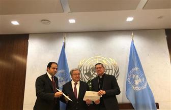 الأمين العام للأمم المتحدة:على المصريين والمسلمين الفخر برمز مثل شيخ الأزهر| صور