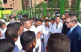 رئيس جامعة سوهاج يشهد افتتاح المهرجان الرياضي الأول بتربية رياضية   صور