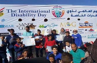 مياه البحر الأحمر تشارك في احتفالية اليوم العالمي لذوي القدرات الخاصة | صور