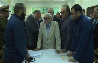 وفد المجلس القومي لحقوق الإنسان في زيارة لسجن شديد الحراسة بالمنيا