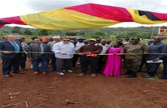 السفير المصري في أوغندا يشهد تدشين المرحلة الأولى من أعمال المزرعة المصرية النموذجية