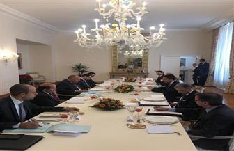 سامح شكري يستهل زيارته روما بعقد محادثات مع وزير الخارجية والتعاون الدولي الإيطالي| صور