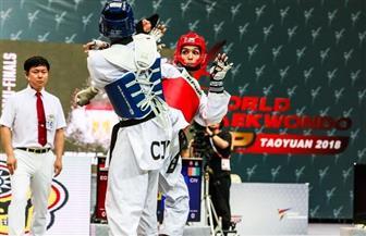 سيف عيسى يتأهل لنصف نهائي الجائزة الكبرى للتايكوندو بموسكو |صورة