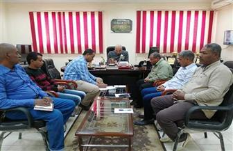 رئيس مدينة الطود يبحث ملفات تقنين الأراضي.. ويطالب بسرعة الانتهاء من المشروعات