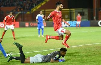 حسين الشحات يسجل الهدف الأول في مرمى الهلال السوداني