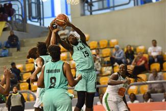 """أول فوز لـ""""وزارة جبل النار"""" في البطولة الإفريقية لكرة السلة"""