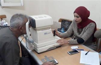 الكشف على 900 مواطن في قافلتين لأمراض العيون بالغربية | صور
