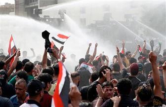 المحتجون يقتحمون نقطة التفتيش الأولية في السفارة الأمريكية في بغداد