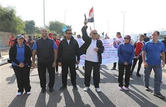 سكرتير عام سوهاج يشارك في فعاليات مهرجان التنمية الرياضية المجمع | صور