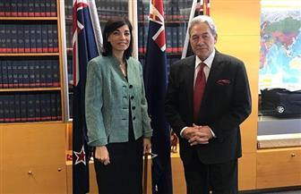 سفير مصر لدى نيوزيلندا تلتقي نائب رئيس الوزراء وزير الخارجية النيوزيلندي