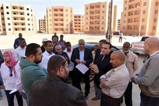 نائب محافظ الأقصر يتفقد أعمال التطوير بالطود ويوجه بانتهاء كافة الأعمال | صور