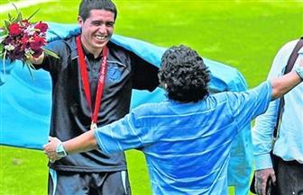 منافسة رياضية بنكهة سياسية بين مارادونا وريكيلمي في انتخابات بوكا