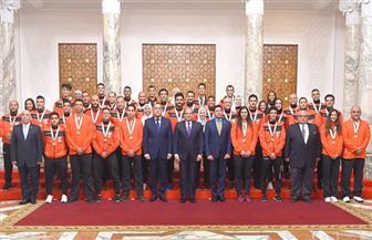 الدهراوي: تكريم الرئيس السيسي لنا دافع قوي لمواصلة الإنجازات