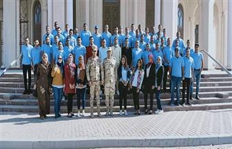 جامعة حلوان تنظم زيارة للعاصمة الإدارية الجديدة| صور