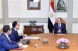 الرئيس السيسي يستعرض الخطة التنفيذية لانتقال الأجهزة الحكومية إلى العاصمة الإدارية