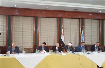 """انطلاق فعاليات ندوة """"الشأن العام والأمن القومي المصري"""" في الأهرام بحضور 5 وزراء"""