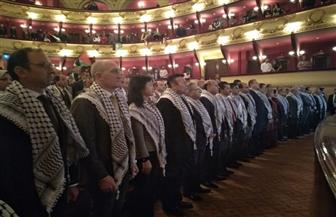 القنصلية الفلسطينية بالإسكندرية تحتفل باليوم العالمي للتضامن مع الشعب الفلسطيني | صور