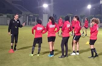 منتخب الكرة النسائية يختتم استعداداته قبل السفر للجزائر