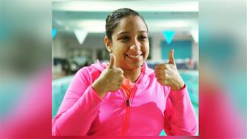 عقد رعاية لأصغر سباحة مصرية وعربية وإفريقية