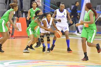 فيروفيارو يفوز علي بطل الكونغو فى البطولة الإفريقية لسيدات السلة