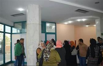 إقبال كبير على مبادرة الرئيس لدعم صحة المرأة المصرية بالغردقة | صور