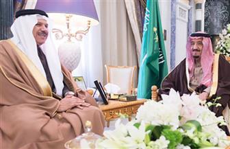 العاهل السعودي يبحث مع الزياني سبل تعزيز مسيرة العمل الخليجي المشترك