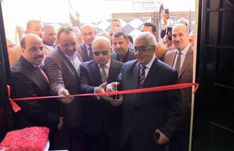 وزارة العدل تفتتح مبنى محكمة سمالوط الجزئية بالمنيا | صور