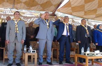بدء فعاليات معسكر جوالات الجامعات العربية بجنوب الوادي | صور