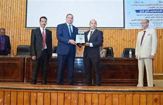 رئيس جامعة عين شمس يفتتح الندوة التثقيفية العشرين لإدارة التربية العسكرية والدفاع الشعبي | صور