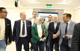 وزيرة الصحة: تسجيل 300 ألف مواطن بمنظومة التأمين الصحي الشامل الجديد بالأقصر | صور